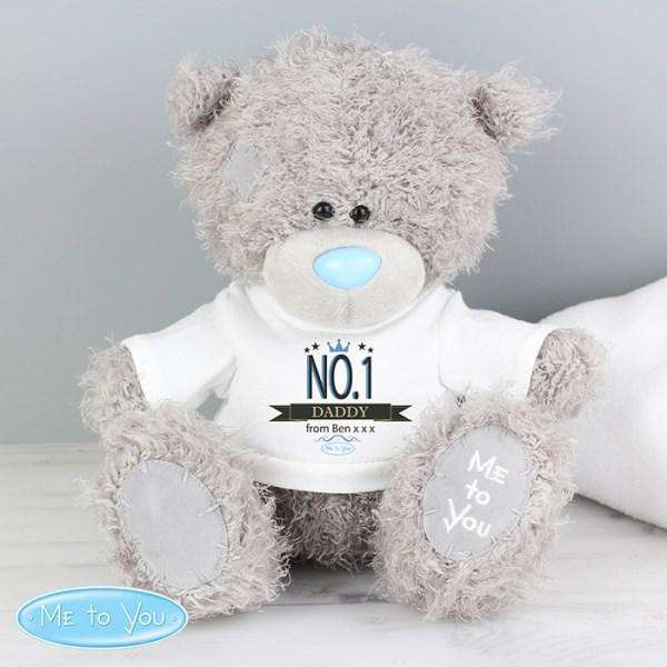 Personalised Me to You Bear with No.1 T-Shirt from Pukkagifts.uk