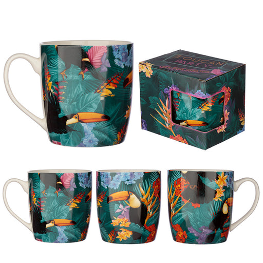 Tropical Toucan Mug from Pukkagifts.uk