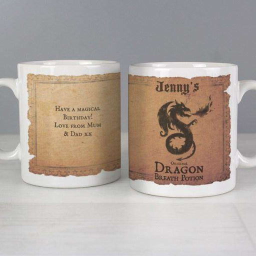 Personalised Dragon Breath Potion Mug from Pukkagifts.uk