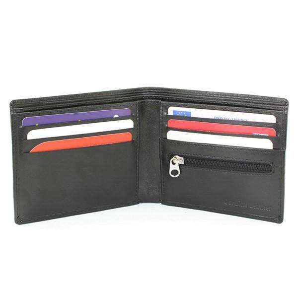 Personalised Any Message Leather Wallet from Pukkagifts.uk