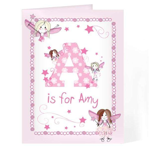 Personalised Fairy Card from Pukkagifts.uk