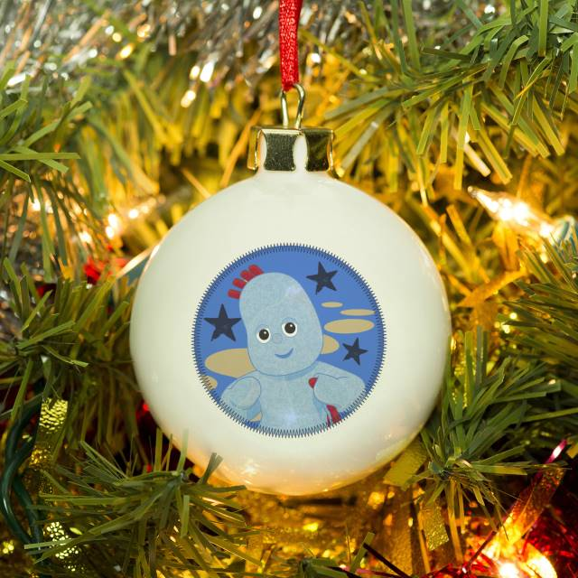 Personalised In The Night Garden Igglepiggle 1st Christmas Bauble