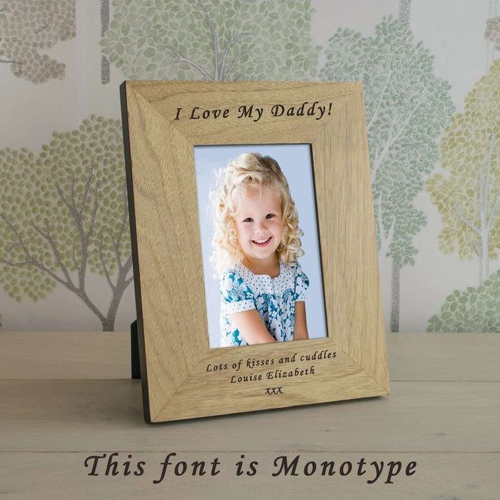 Personalised Bespoke Message Frames 6x4 or 4x6 from Pukkagifts.uk