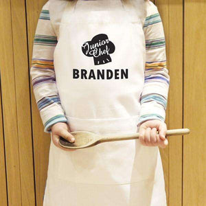 Personalised Children's Junior Chef Apron from Pukkagifts.uk