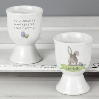 Personalised Easter Bunny Egg Cup from Pukkagifts.uk