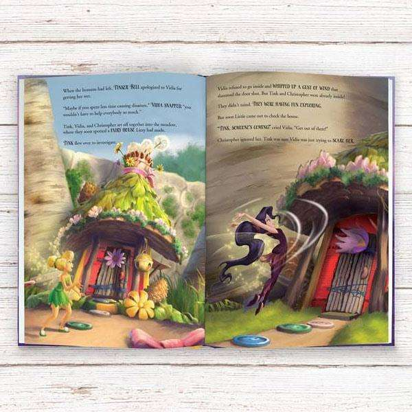 Personalised Disney Fairies' Story Book from Pukkagifts.uk