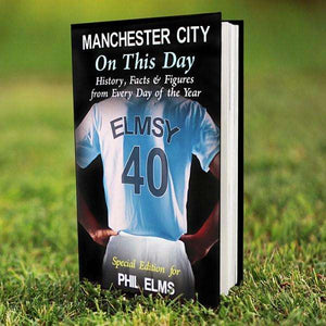 Personalised Manchester City On This Day Book,Pukka Gifts