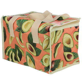 Woven Avocado Cool Insulated Lunch Bag from Pukkagifts.uk