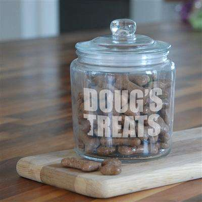Personalised Dog Treat Jar from Pukkagifts.uk