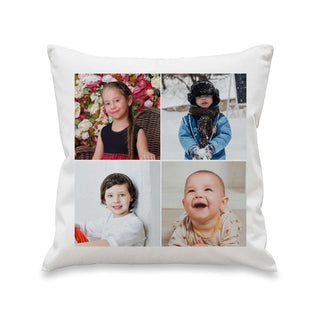 Personalised Multiple Photo Cushion Cover from Pukkagifts.uk