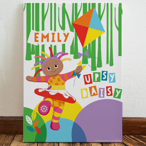Personalised Upsy Daisy Kite In The Night Garden Canvas