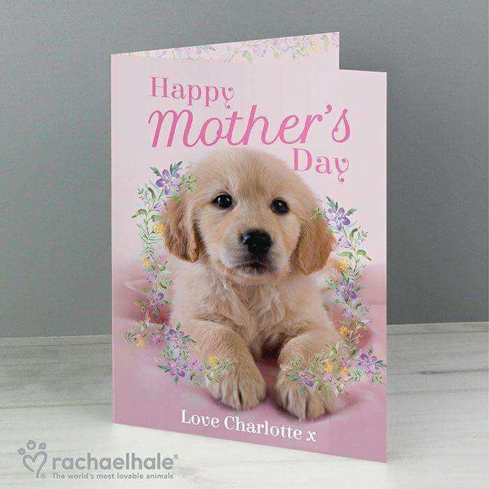 Personalised Rachael Hale Happy Mother's Day Card from Pukkagifts.uk