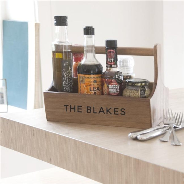 Personalised Condiment Holder