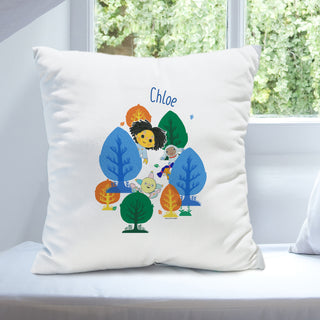 Personalised Moon and Me Forest Cushion