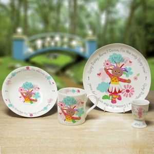 Personalised Upsy Daisy In The Night Garden Breakfast Set