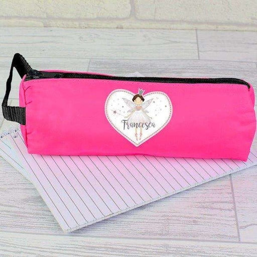 Personalised Fairy Princess Pink Pencil Case from Pukkagifts.uk
