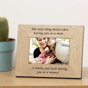 The Only Thing Better Than Having You As A Mum Photo Frame from Pukkagifts.uk