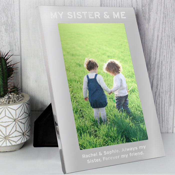 Personalised & Me Silver Photo Frame 7x5