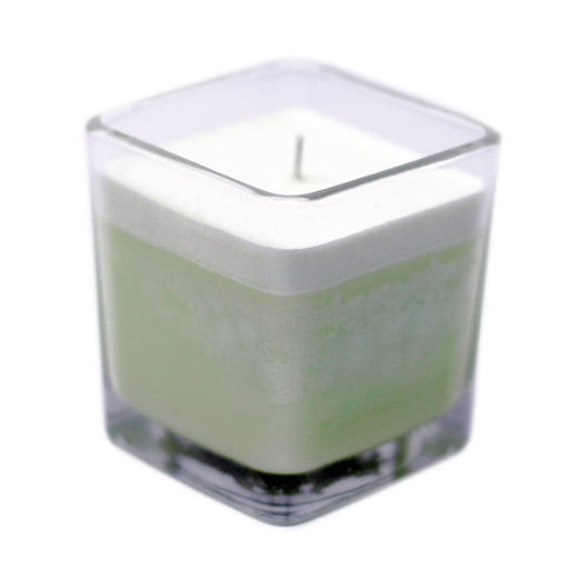 Scented Soy Wax Jar Candle - Cucumber & Mint