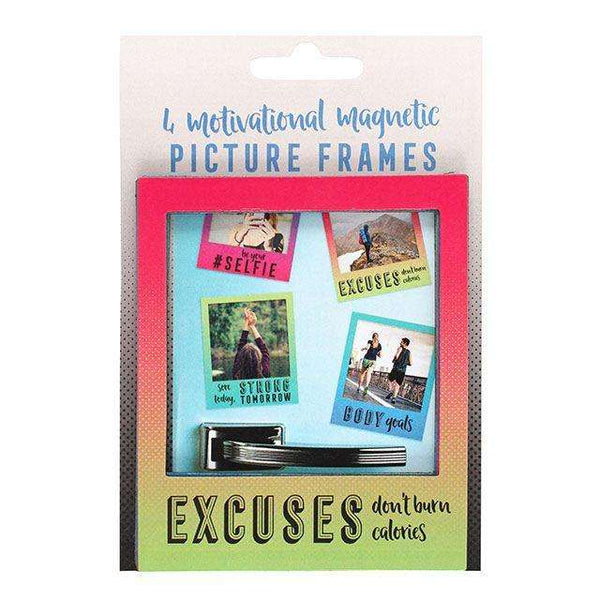 Set Of Four Motivational Magnetic Picture Frames from Pukkagifts.uk