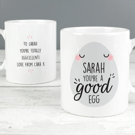 Personalised Youre A Good Egg Mug