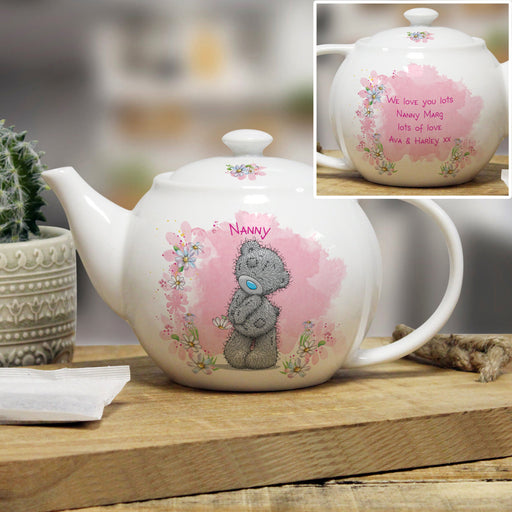 Personalised Me To You Lovely As A Flower Teapot