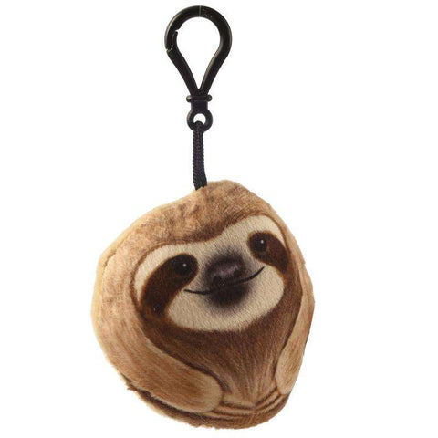 Sloth Keyring With Sound,Pukka Gifts