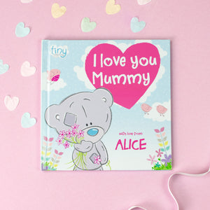 Personalised Tiny Tatty Teddy I Love You Mummy Book
