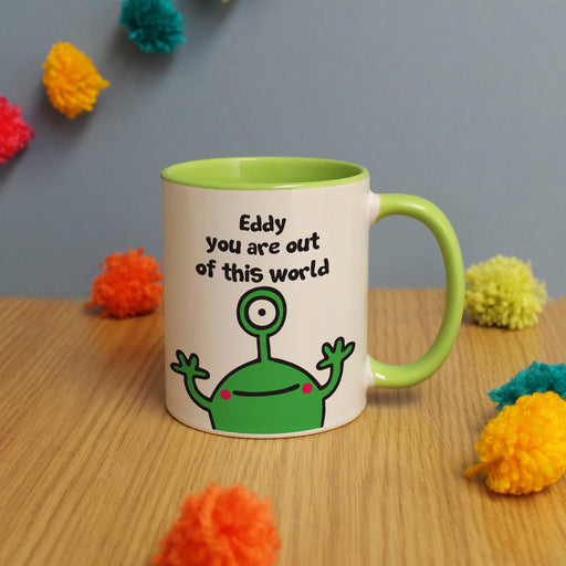 Personalised You Are Out Of This World Mug