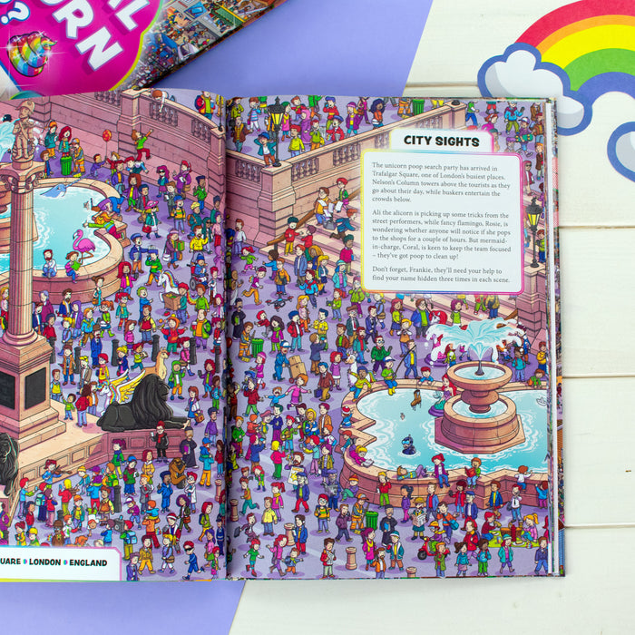 Personalised Where's the Magical Unicorn Poop Book