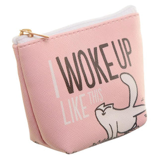Simon's Cat Make Up Bag - I Woke Up Like This