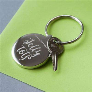 Love You Lots Like Jelly Tots Keyring,Pukka Gifts