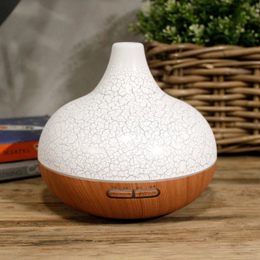 Santorini Aroma Atomiser - Shell Effect - USB - Colour Change - Timer | Diffuser