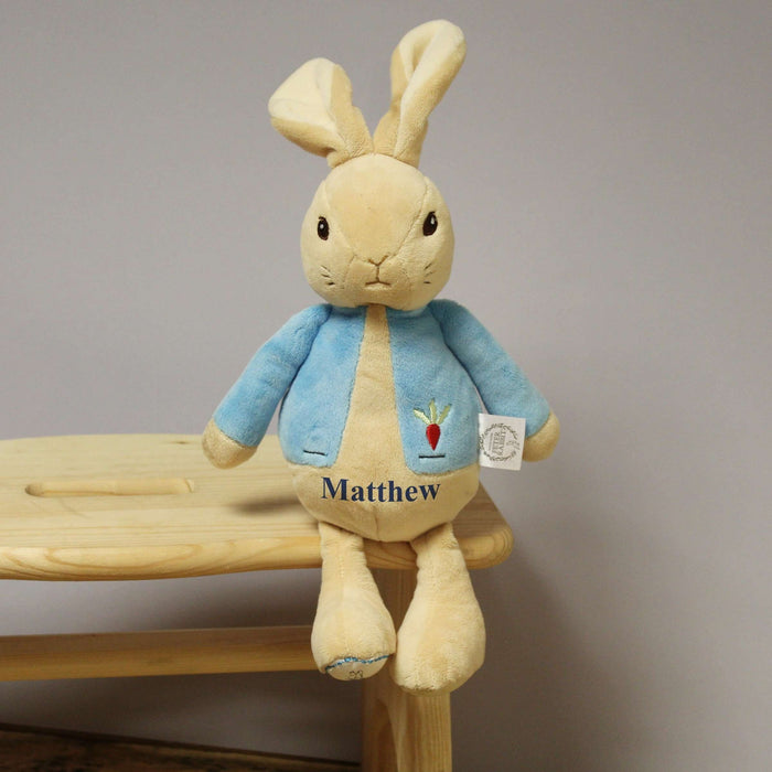 Personalised Beatrix Potter My 1st Peter Rabbit Plush from Pukkagifts.uk