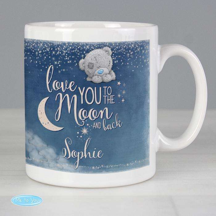 Personalised Me to You 'Love You to the Moon and Back' Mug from Pukkagifts.uk