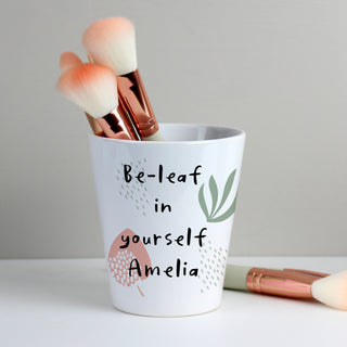 Personalised Abstract Pattern Plant Pot