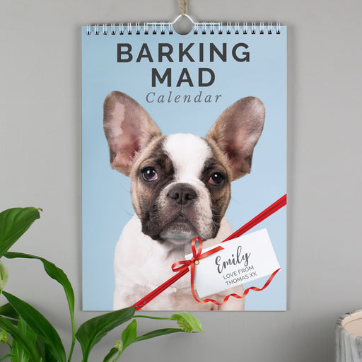 Personalised A4 Barking Mad Dog Calendar