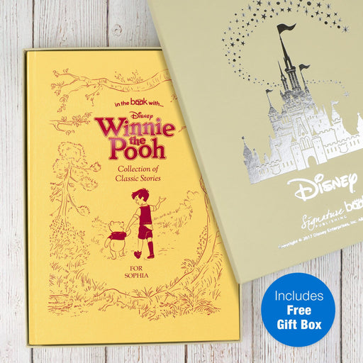 Personalised Disney Winnie the Pooh Collection Book