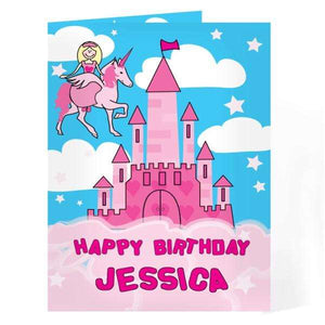 Personalised Princess Card,Pukka Gifts