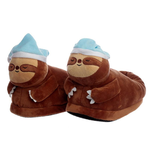 Sleepy Sloth Slippers (One Size) - Pukka Gifts