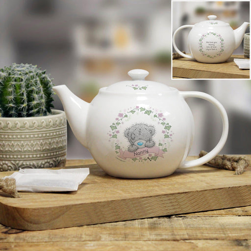 Personalised Me To You Secret Garden Teapot