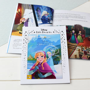 Personalised Disney Little Favourites Frozen Book from Pukkagifts.uk