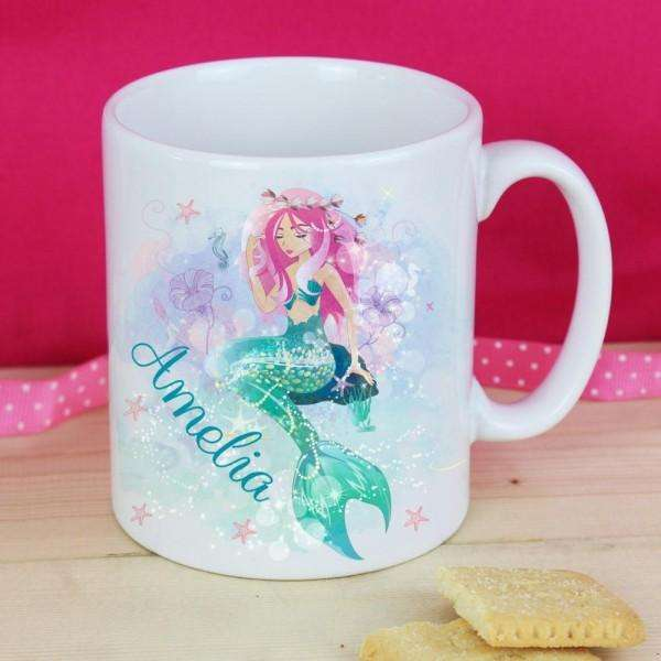 Personalised Mermaid Mug from Pukkagifts.uk