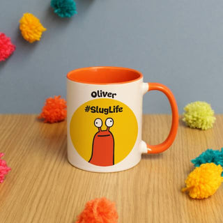 Personalised #SlugLife Mug
