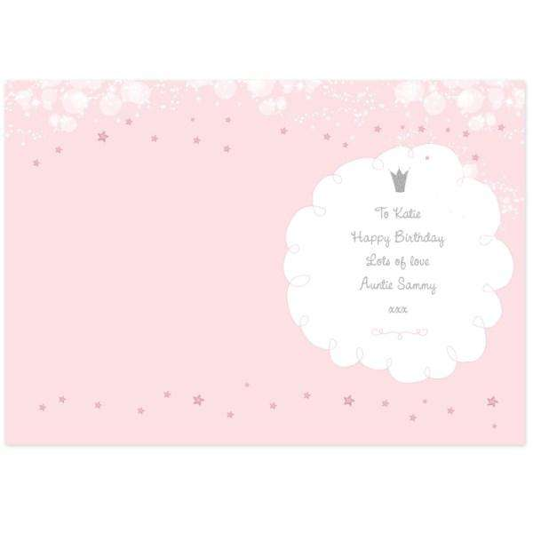 Personalised Fairy Princess Card from Pukkagifts.uk