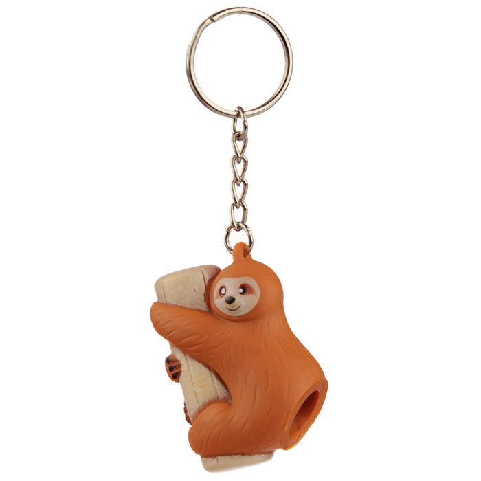Sloth Poop Keyring - Tan