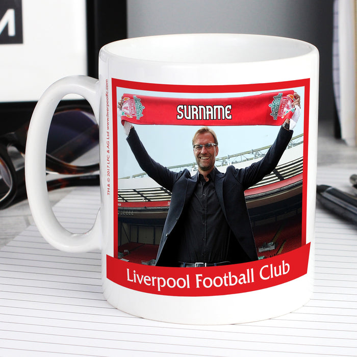 Personalised Liverpool FC Manager Mug