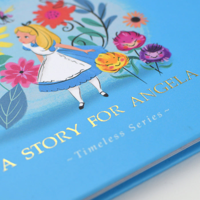 Personalised Disney Alice In Wonderland Story Book from Pukkagifts.uk