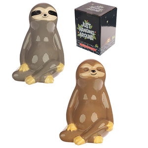 Just Hanging Around Ceramic Sloth Money Box