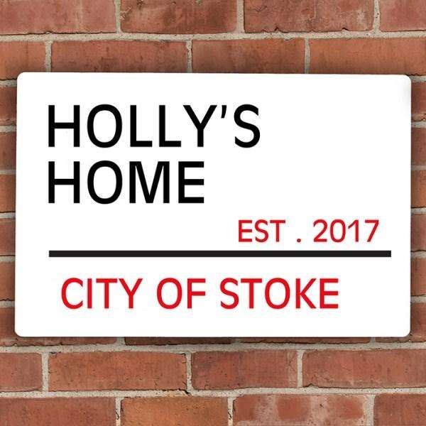 Personalised London Street Sign from Pukkagifts.uk